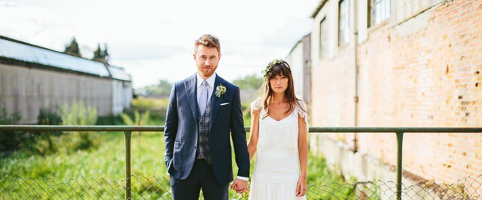 Alternative wedding photography Millhouse at Slane Ireland