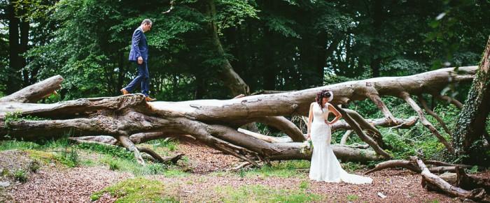 Lee & Christine // Alternative wedding photography Northern Ireland