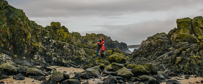 Neil & Lauren // Ballintoy Engagement Photography