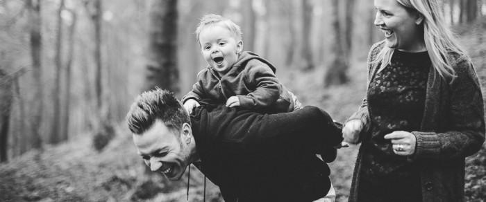 Dave, Abs & Jay // Family Photographer Leeds