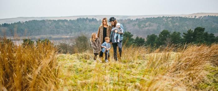 The Harvies // Leeds Family Portrait Photography
