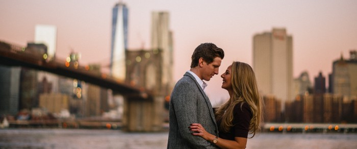 Andrew & Diane // New York City Engagement
