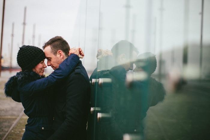 Alternative wedding photographer Belfast Engagement_0009