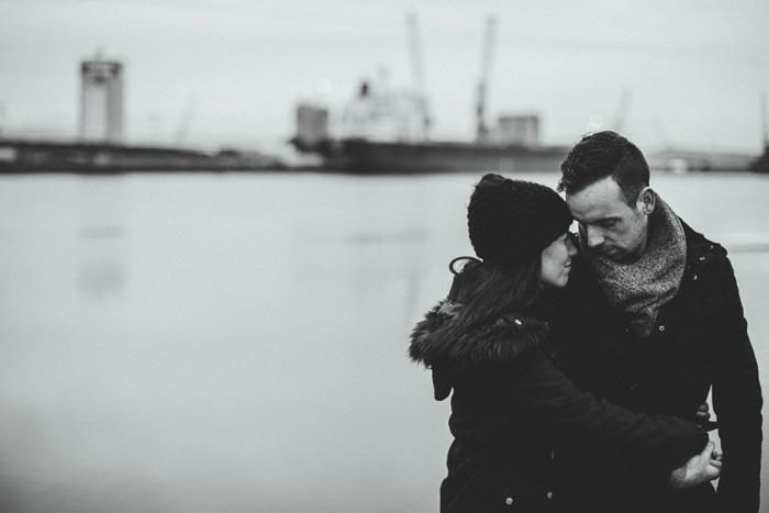 Alternative wedding photographer Belfast Engagement_0017