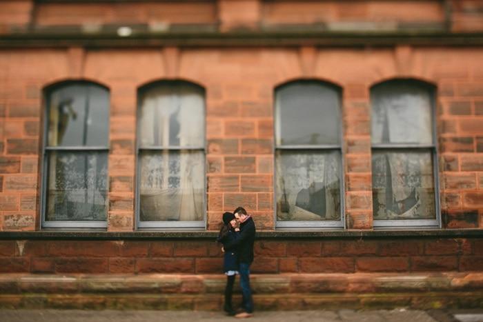 Alternative wedding photographer Belfast Engagement_0030